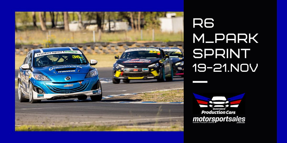 Qld Production Cars : Round 6 : Sprint