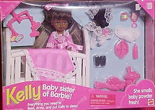 Baby Sister of Barbie Kelly AA