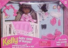 Baby Sister of Barbie Kelly AA