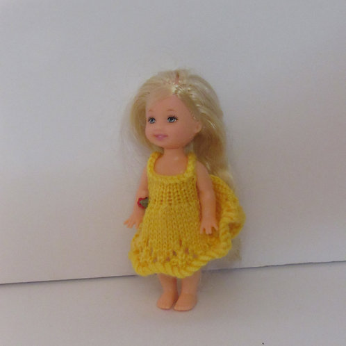 Kelly Doll Friend Custom Kreation-Pepper