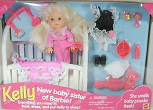 New Baby Sister of Barbie Kelly