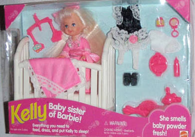 Baby Sister of Barbie Kelly