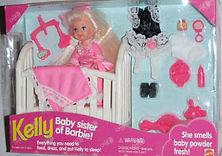 Baby Sister of Barbie Kelly