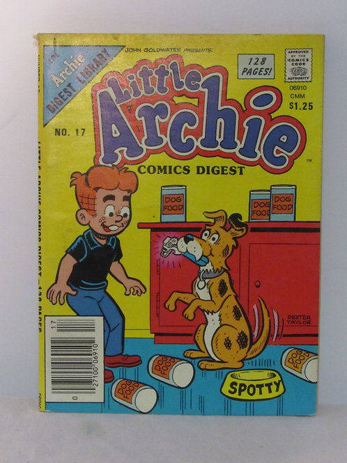 Little Archie Comics DIGEST Library No. 17 July 85 F - VF