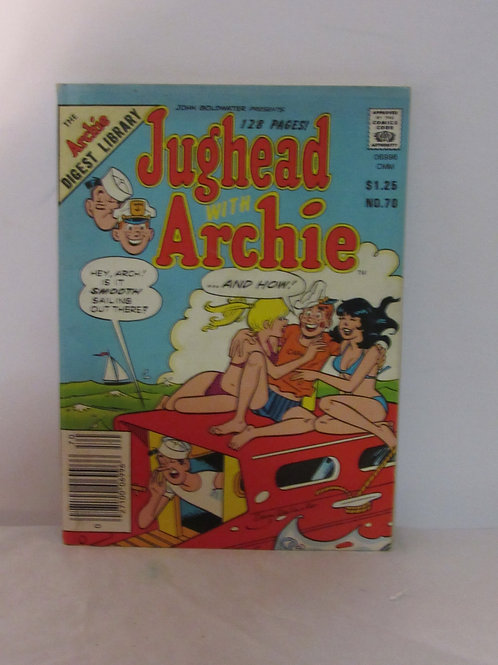 Jughead With Archie Comics DIGEST Library No. 70 Sep 85 F - VF