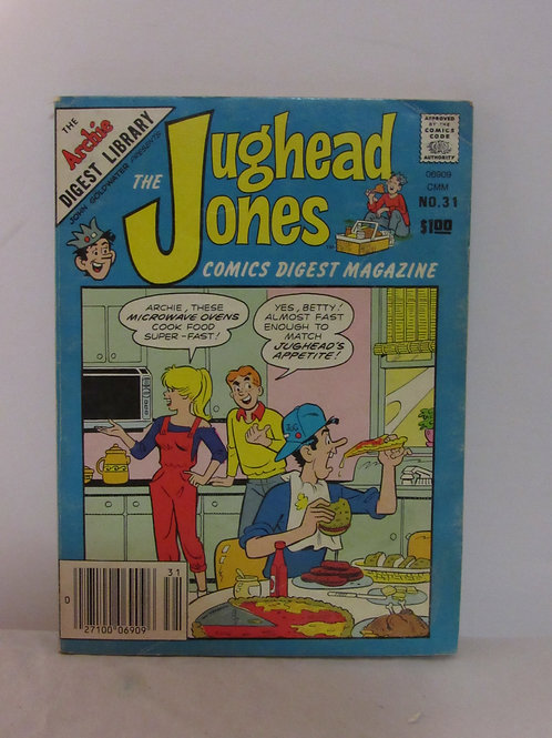 Jughead Jones Comic Digest Magazine #31 Dec 1984 VF