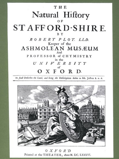 The Natural History of Staffordshire by Robert Plot