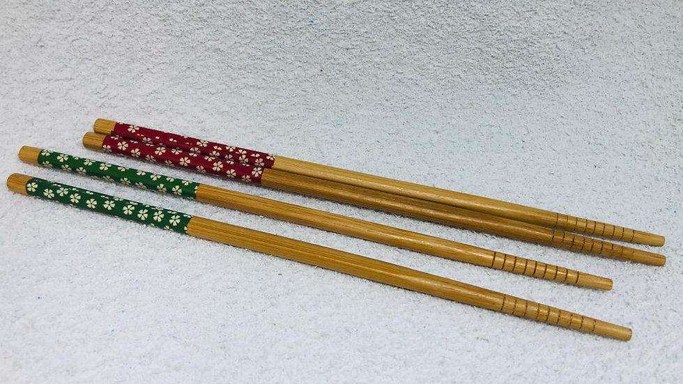 Hashi de bambu (par)