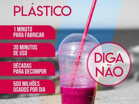 Capital também proibirá canudos plásticos