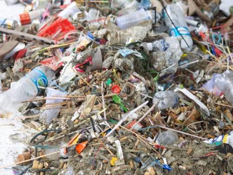 95% do lixo encontrado em praias brasileiras são itens de plástico