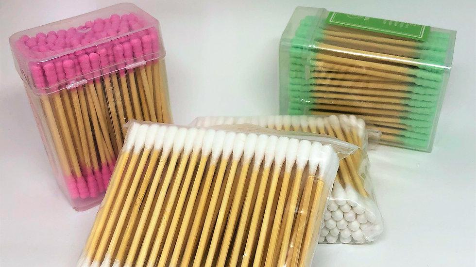 Cotonete de bambu (100 unidades)