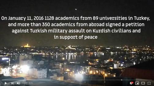 סרטון המתעד את משלחת אקדמיה לשוויון לאיסטנבול