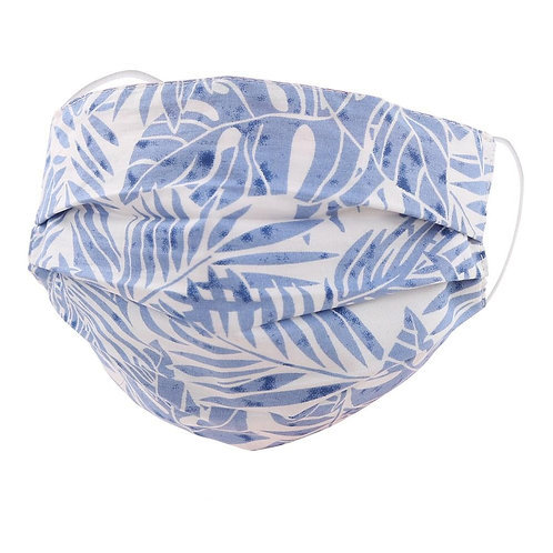 Palm Tree Pleated Face Mask