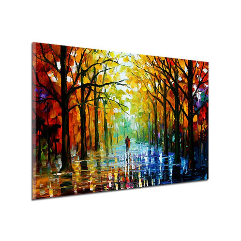 11325 Wood Sidewalk Pattern Home Decoration Printed Wall Art Pictures