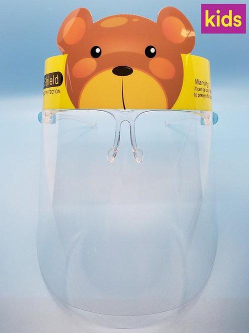 Anti Direct Splash Cartoon Face Shield for Kids
