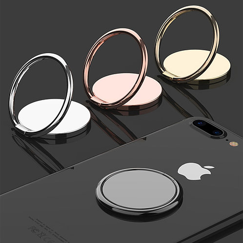 Luxury Metal Mobile Phone Ring Holder Telephone Cellular Support Accessories