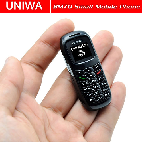 UNIWA L8STAR BM70 Mini Mobile Phone Wireless Bluetooth Earphone