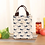 Thumbnail: Female Lunch Food Box Bag Fashion Insulated Thermal Food