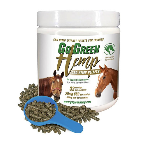 GoGreen Hemp CBD Horse Pellets 800mg