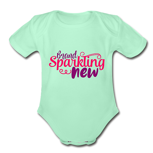 Brand Sparkling New Short Sleeve Baby Bodysuit