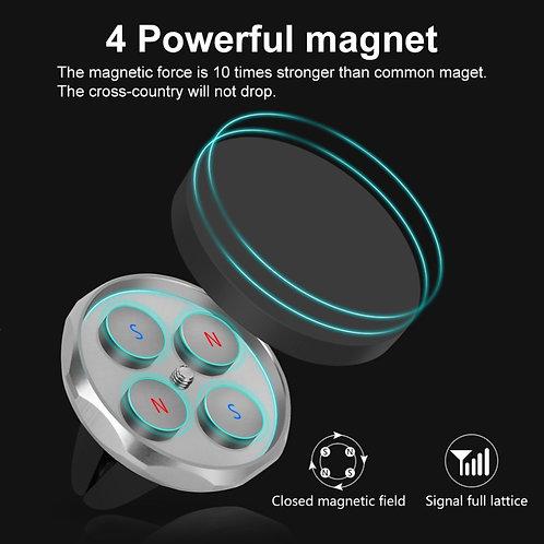 Magnetic Car Phone Holder for iPhone Samsung Magnet Mount 360 Rotation
