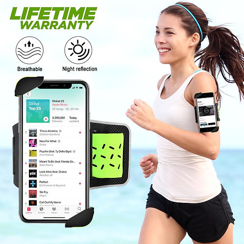 Universal Holder Sports Running Phone Armband for All 4~6.5 Inch Phones
