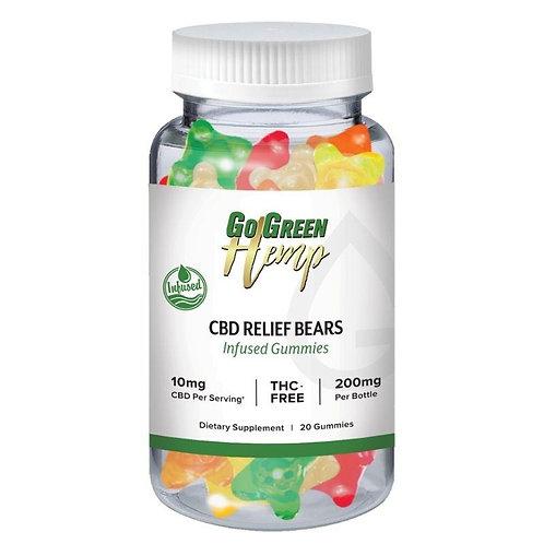 GoGreen Hemp CBD 10mg Gummy Bears