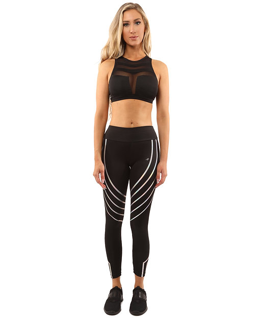 Laguna Set - Leggings & Sports Bra - Black