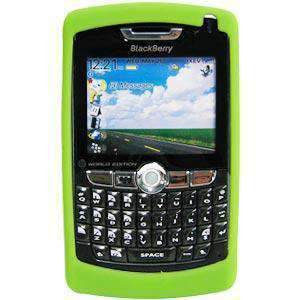 RIM (OEM) BlackBerry® Skin Case - Green for BlackBerry 8800