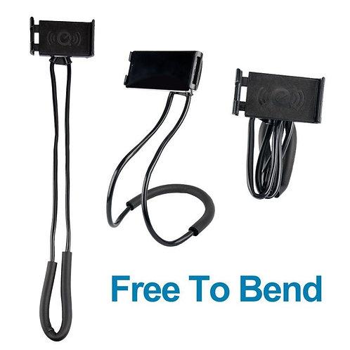 Flexible Mobile Phone Holder Hanging Neck Lazy Necklace Bracket