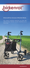 Birkenrot Rollator Werbematerial Banner
