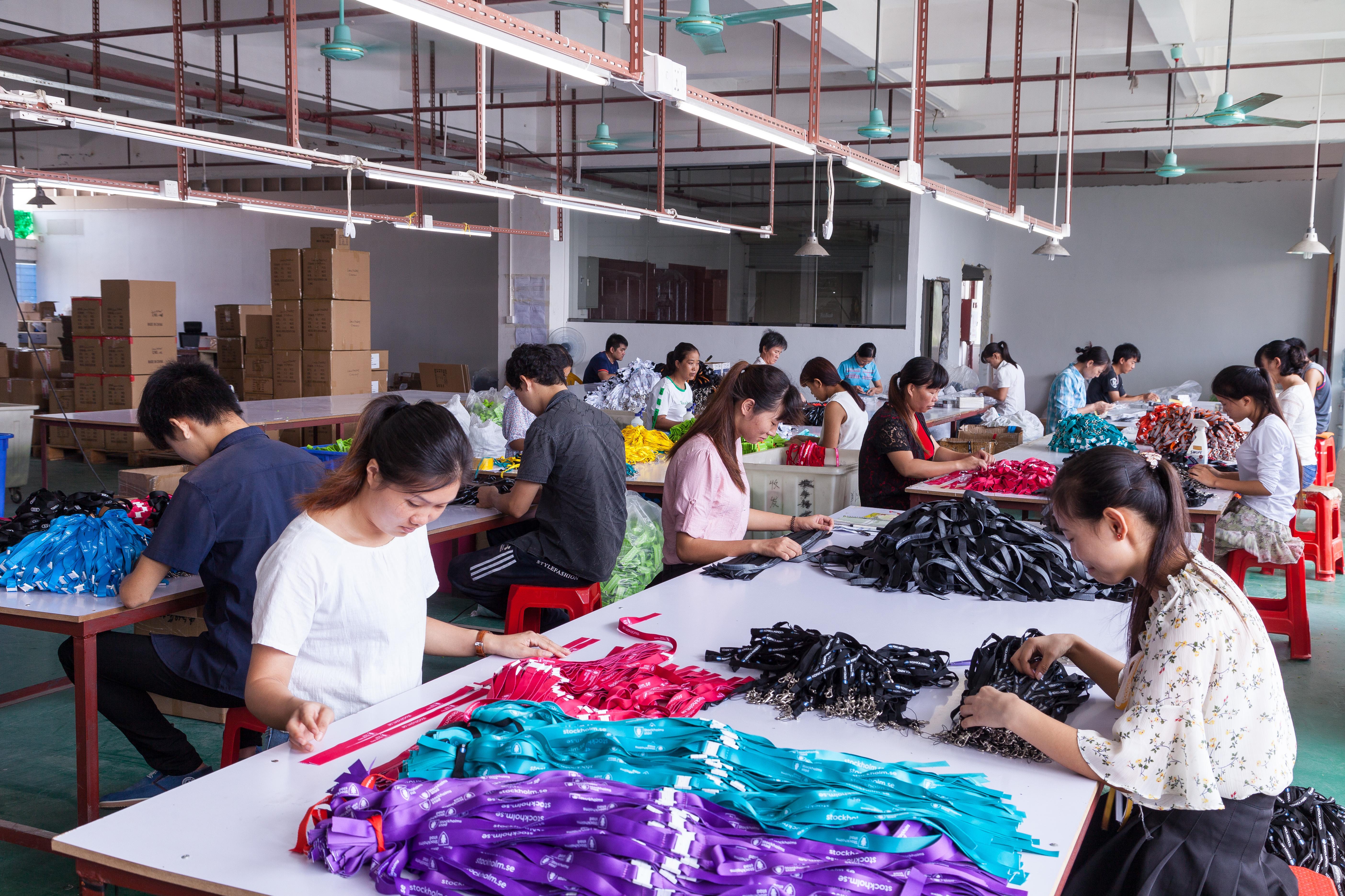 Lanyard Produktion
