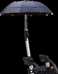 Regenschirm für Rollator Birkenrot