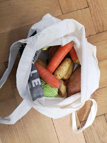 Gerettetes Foodwaste-Gemüse