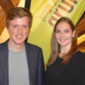 Corina Liebi und Markus Koch: Präsidium jglp Bern