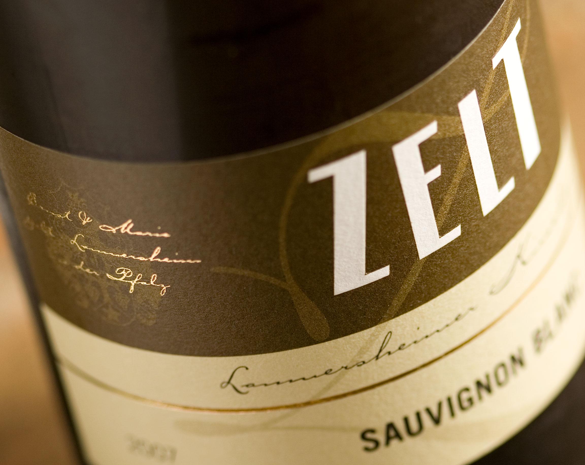 Etikett Weingut Zelt