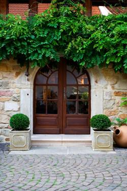 Eingang Weinprobierstube