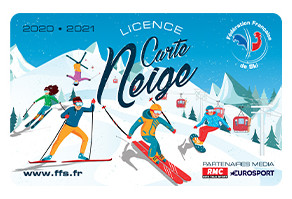 License Carte Neige 2020-21