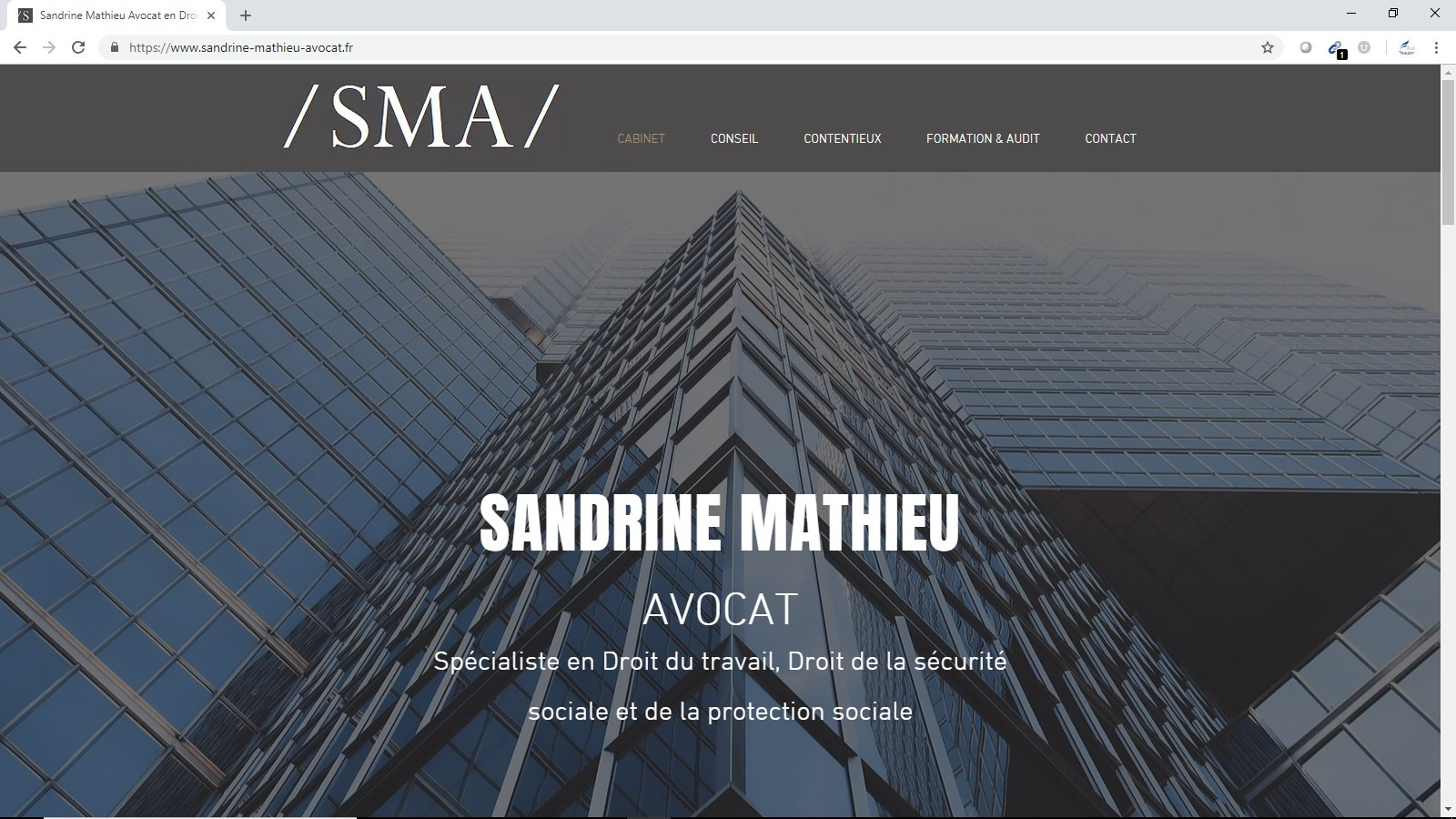 Sandrine Mathieu Avocat