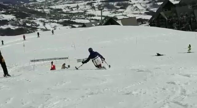 Handi ski au SCOCE