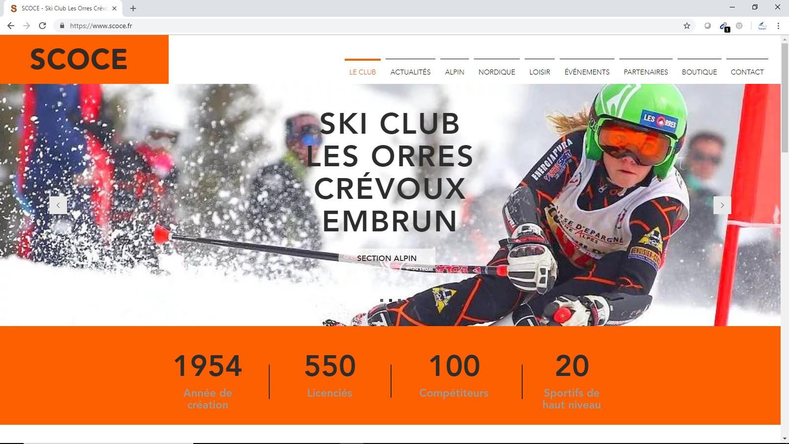 Ski Club Les Orres Crévoux Embrun