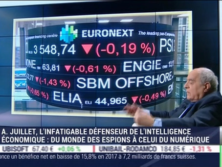 Alain Juillet, Académie de l'intelligence économique - 15/02/18