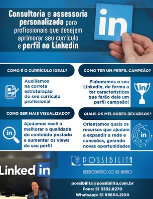 Possibilità - Consultoria e Assessoria personalizada para aprimorar seu perfil no Linkedin.