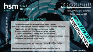 HSM EXPO 2018 - Multiplique Perspectivas. Esperamos você!