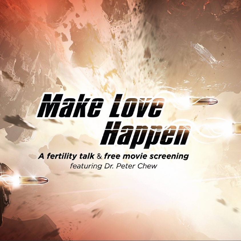 Make Love Happen - Dr Peter Chew's Talk and Invitation to latest superhero movie for your support of aLife!