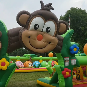 'Peppiland' Inflatable fun!