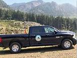 Water District Dodge pickup truck photo