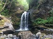 waterfalls on Arch Cape Creek