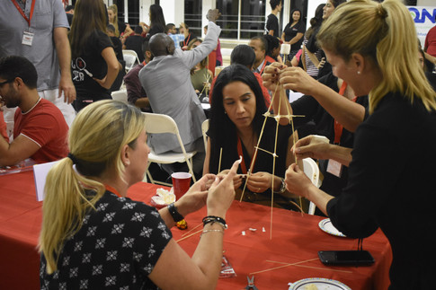 Marshmallow Challenge by EON
