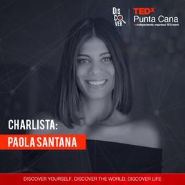Paola Santana es una becaria Fulbright, egresada de las Universidades de Georgetown y George Washington en Washington D.C., y de Singularity University, con sede en el NASA Research Park de California. Ha sido rankeada por LinkedIn en el Top Professionals Under 35, por CNET en el Top 20 de Latinos en Tecnología, y reconocida por Forbes como una de las 50 mujeres más poderosas de la República Dominicana.
